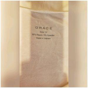 Grace Tops - Grace Cream Top